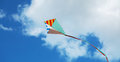 Flying Kite Royalty Free Stock Photography - 95742857