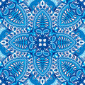 India Seamless Paisley Kerchief Pattern, Decorative Textile, Wrapping, Decor.  Royalty Free Stock Images - 95745169