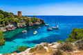Bay Of Cala Pi On Majorca Island, Spain Mediterranean Sea Royalty Free Stock Photography - 95794007