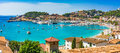 Mediterranean Sea Spain Majorca Port De Soller Stock Photo - 95798620