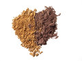 Close Up Of Crushed Eyeshadow Cosmetic Powder Stock Photo - 95830140