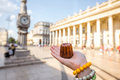 Street Food In Bordeaux Royalty Free Stock Photo - 95831845