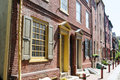 PHILADELPHIA, PA - MAY 14: The Historic Old City In Philadelphia, Pennsylvania. Elfreth`s Alley, Referred To As The Royalty Free Stock Photos - 95863218