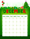 December Calender Royalty Free Stock Images - 95879879