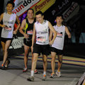 Faces Of Pain At The Finish Line Stock Photography - 9592422