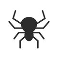 Spider Vector Icon Stock Images - 95927604