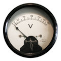Voltmeter Royalty Free Stock Photo - 95965825