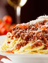 Spaghetti Bolognaise Royalty Free Stock Photography - 95970007