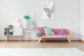 Sofa In Kid Room Stock Images - 95970574