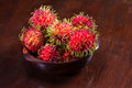 Rambutan A Sweet Tropical Fruit Royalty Free Stock Photography - 95990027