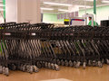 Shopping Carts Area Royalty Free Stock Image - 966276