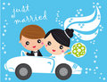 Just Married Stock Image - 9602301