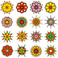 Variety Of Flower Designs Royalty Free Stock Image - 9605526
