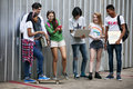 Teenagers Lifestyle Casual Culture Youth Style Concept Stock Image - 96005251