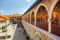 Courtyard In The Famous Kykkos Monastery. Royalty Free Stock Photography - 96028207