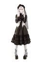 Widow Doll Girl Royalty Free Stock Image - 96037726