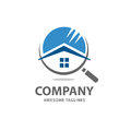 House Search Logo Vector Royalty Free Stock Photography - 96041587