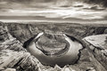 Sunset At Horseshoe Bend - Grand Canyon With Colorado River - Located In Page, Arizona, USA Royalty Free Stock Photos - 96046938
