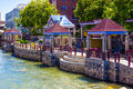 River Walk In Downtown Reno, Nevada Stock Photography - 96049152
