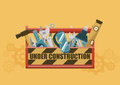 Under Construction Toolbox Royalty Free Stock Photo - 96103785