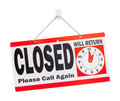 Closed Sign Royalty Free Stock Photo - 96155265