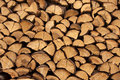 Stack Of Firewood Stock Images - 9623954