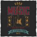 Good Music Poster Royalty Free Stock Images - 96207049