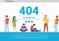Error Page Not Found Concept Illustration Royalty Free Stock Photo - 96347495