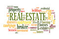 Real Estate Word Cloud Stock Images - 96364284