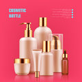 Cosmetic Bottle Realistic Royalty Free Stock Photos - 96373958