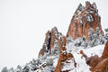 Garden Of The Gods Winter Snow Royalty Free Stock Image - 96401316
