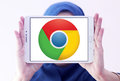 Google Chrome Web Browser Logo Stock Photography - 96483332