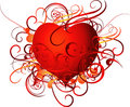 Abstract Illustrated Heart Royalty Free Stock Photo - 9656855