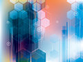 Abstract Technology And Science Backgrounds Vector Design Royalty Free Stock Image - 96529526