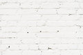 City Old Painted, Plastered Brick Wall, Prepared For Drawing Creative Graffiti. For Backgrounds And Backdrops Royalty Free Stock Images - 96534389