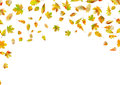 Falling Autumn Leaves. EPS 10 Vector Stock Photo - 96572060