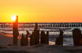 Sunset Over The Baltic Sea Royalty Free Stock Photography - 96572667