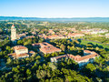 Drone View Of Stanford University Stock Image - 96594041
