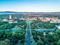 Drone View Of Stanford University Stock Photography - 96594102