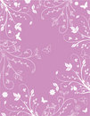 Pink Floral Background Royalty Free Stock Photo - 9668505