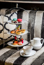 Afternoon Tea Tray Set Stock Photography - 96603972