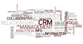 CRM Concept Word Cloud Royalty Free Stock Images - 96613589