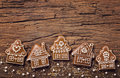 Gingerbread Home Cookies Royalty Free Stock Images - 96614559