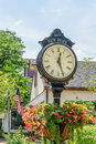 Nice Clock In Historic New Hope, PA Stock Photo - 96630110