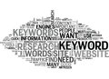 What Keywords Do I Need And How Do I Find Themword Cloud Stock Photography - 96630432