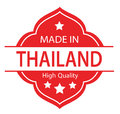 Red Made In Thailand Label 01 Royalty Free Stock Image - 96658226