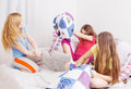 Teenage Girls  Having Fun Stock Image - 96662511