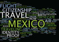 Legal Air Travel To Mexico Fly Now Or Suffer Later Text Background  Word Cloud Concept Stock Photo - 96677710