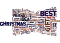 Best Gift Ideas For Her And Him This Holiday Season Word Cloud Concept Royalty Free Stock Photography - 96698727