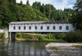 Goodpasture Covered Bridge In Oregon Royalty Free Stock Images - 96706739